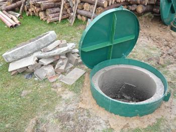 Brunnendeckel aus Kunststoff